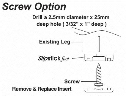 Slipstick Sliders Cb250 And Cb255 Slipstick Foot